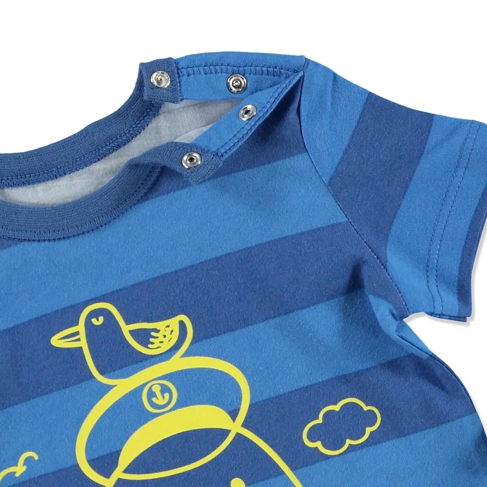 HelloBaby Yaz Bebek Basic Baskılı Tshirt-Şort Takım