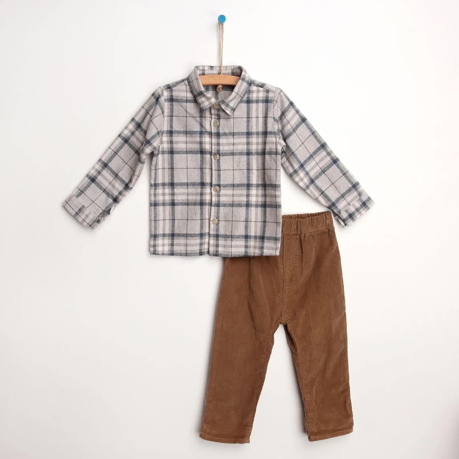 Country Boy Tema Gömlek-Pantolon